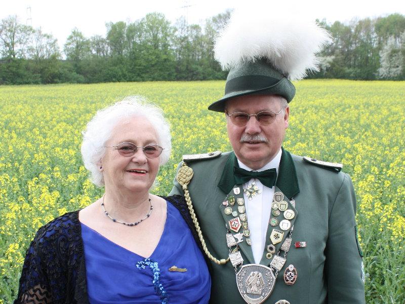 Königspaar in Urbach 2012/2013