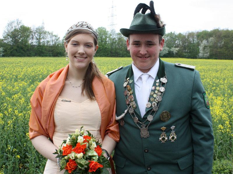 Prinzenpaar in Urbach 2012/2013